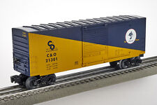 Lot 4081 Lionel CHESSIE SYSTEM C & O, festa carri merci (Boxcar), traccia 0