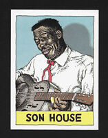 Son House - 1980 Heroes of the Blues card #31