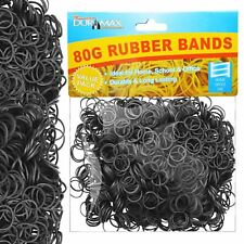 Strong Elastic Rubber Bands Assorted Size for Home School Office 80g 1200 pcs