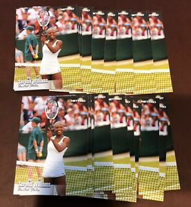 (20) 2003 Netpro Net Pro Serena Williams RC ROOKIE LOT #100 SP SHORT PRINT QTY