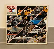 TAMIYA MODEL KIT CATALOGUE - VINTAGE - 1988 - EXCELLENT CONDITION