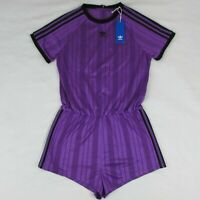 Adidas Originals Women's Purple Romper Jumpsuit DU8185 Size Large