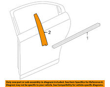 Chevrolet GM OEM 11-12 Cruze Exterior-Rear-Applique Window Trim Left 95460761