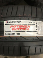 1 New 265 35 19 Bridgestone Potenza RE050A Tire