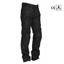 Pantaloni per motociclista tessuto jeans ginocchio