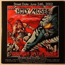Holy Moses Disorder Of The Order Cardcover Advance CD