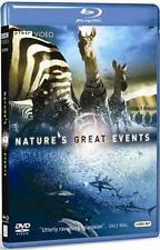 NATURE'S GREAT EVENTS -David Attenborough *NEW BLU-RAY*