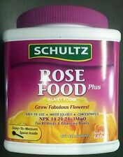 SCHULTZ Premium ROSE fertilizer concentrate NPK 14:24:24+3MgO plant food,BLOOM