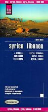 Map of Syria & Lebanon, by Reise Know How, Middle East