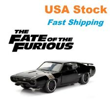 "Fast And Furious, Dom's Plymouth GTX, F8, JADA, Diecast Toy Car, 5.25"", 1:32"