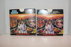 Super 8 Film - Buck Rogers - Universal 8 - Color/Sound - 400' x 2 reels