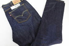 New Levis 541 Athletic Straight Fit Cotton Jeans The Rich Blue 38x34 MY0