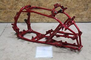 2005 Yamaha YFZ450 frame RED clean straight yfz 450 05 clean paperwork