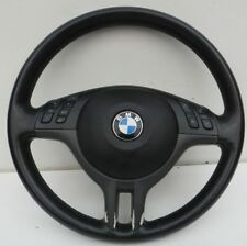 BMW E46 COUPE 1998-2003 LEATHER MULTIFUNCTION STEERING WHEEL & AIRBAG