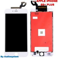 DISPLAY LCD+FRAME TOUCH SCREEN per APPLE IPHONE 6S PLUS A1634 A1687 BIANCO VETRO