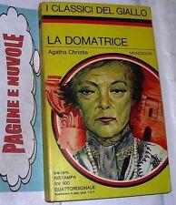 Agatha Christie - LA DOMATRICE - mondadori  n.225(g1)