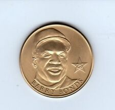 BARRY BONDS BRONZE COIN FROM THE NATIONAL SPORTS COLLECTOR CONVENTION  MINT