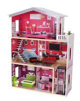 XXL Puppenhaus Residenz Malibu Barbiehaus Puppenhaus Puppenstube aus Holz NEU 18
