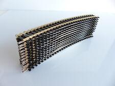 JOUEF / HORNBY R 608 / 12 RAILS COURBES R3 R 505 MM R608 MAILLECHORT
