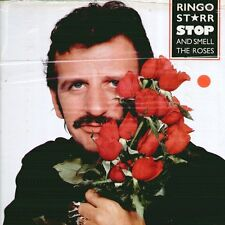 "RINGO STARR "" STOP AND SMELL THE ROSES "" LP SIGILLATO ITALY"