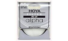 Hoya 77mm ALPHA UV HMC Multi-Coated Glass Filter - Brand New