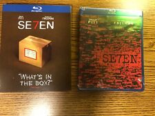 Seven Se7en Special Edition Exclusive Slipcover Blu-ray Factory Sealed New Rare