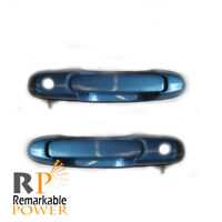 For Toyota Sienna Classic Green Pearl 6P2 98-02 03 Outside Door Handle Rear Pair