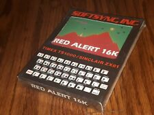 SEALED NEW old Timex TS1000/Sinclair ZX81 computer game software RED ALERT 16K