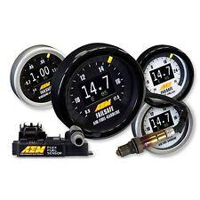AEM Flex Fuel Failsafe Monitor AFR Wideband Ethonal Content Boost Gauge 30-4911