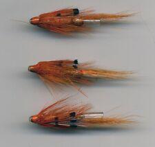 Tube Flies: Allys Shrimp : 28 mm long Brass Tube x 3 (Code 315)