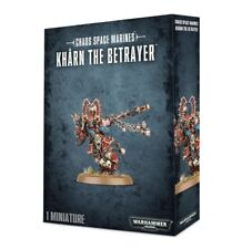 Chaos Space Marines World Eaters Khârn the Betrayer NEW Warhammer 40k 40000