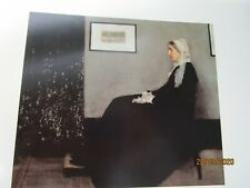 Vintage James Whistler Plate 20 Portrait of the Artists Mother Art Print