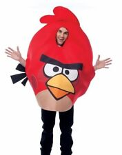 ANGRY BIRDS RED BIRD COMICAL ADULT HALLOWEEN COSTUME MEN'S SIZE STANDARD