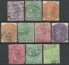 SOUTH AUSTRALIA Collection Packet of 10 Different COLONIES STATES Stamps Used