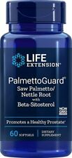 Life Extension Saw Palmetto Nettle Root With Beta-sitosterol Softgels 60 Count