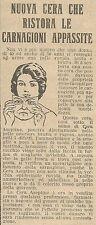 W8171 Cera ASEPTINE ristora le carnagioni appassite - Pubblicità 1926 - Advertis