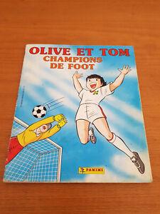 Album Panini - Olive et tom - Complet  1988 vintage club dorothée football