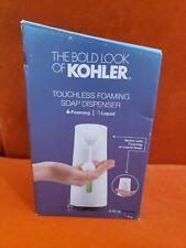 Kohler Touchless Foaming Soap Dispenser White 8637