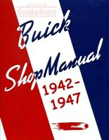 BUICK SHOP MANUAL SERVICE REPAIR BOOK 1942-1947