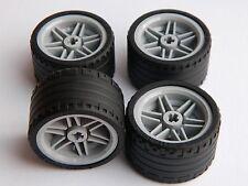 LEGO TECHNIC WHEELS set of 4 Tire 37 x 22 ZR Wheel 30.4 x 20 mm large tyre NEW