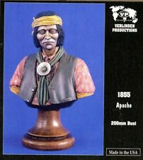 Verlinden Productions 200mm Apache Native American Indian - Resin Bust Kit #1855