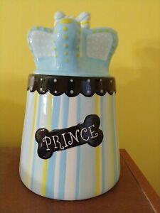 Pet Studio Dog Cookie Jar Prince *retired*