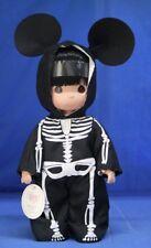 Mickey Skellytons of Fun Halloween 12&#03 00006000 4; Doll Disney Precious Moments 5085 Signed