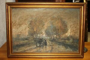 Peintures Et Emaux Du Xixe Siecle Et Avant Peinture Espagnole En Paysage Ebay