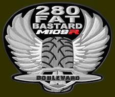 """SUZUKI M109 R FAT BASTARD EMBROIDERED PATCH ~4-3/4"""" x 4"""" BORDADO PARCHE AUFNÄHER"""