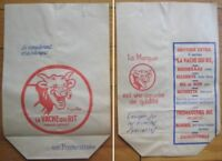 French ''La Vache'' Cheese bag SIGNED by Artist, Benjamin Rabier