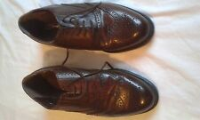 MENS DOLCIS BROWN LACE UP SHOES SIZE 9