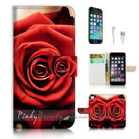 ( For iPhone 6 / 6S ) Wallet Case Cover P1656 Rose