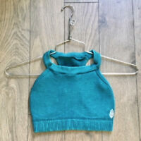 NEW Free People Movement Work Out Sports Bra Crop top in Teal XS/S-M/L $62.80