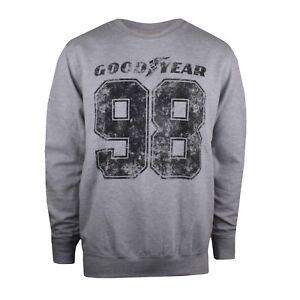 Goodyear Mens - 98 - Crew Sweat - Grey